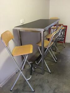 Table and 4 x chair - $150 Wooloowin Wooloowin Brisbane North East Preview