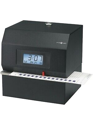 Pyramid Technologies Heavy Duty Steel Time Clock 3700 - Power Tested Read Desc