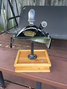 1930's Antique Headlight converted Steampunk Lamp (see pics)