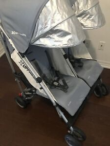 2017 UPPAbaby g-link double stroller and accessories