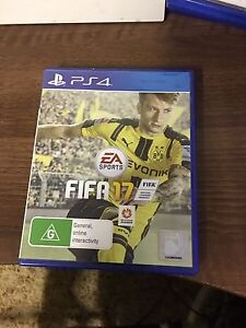 PS4 GAMES - FIFA 17 Capalaba Brisbane South East Preview