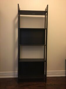 2 Ikea shelves / bookcases 165cm high assembled brown