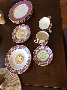 Maxwell And Williams dinner plate set Speers Point Lake Macquarie Area Preview