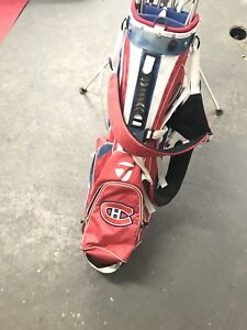 Founders golf set with habs taylormade bag