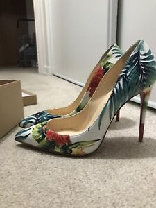 Christian Louboutin Pigalle Follies 100 Hawaii Size 40 (9-10)