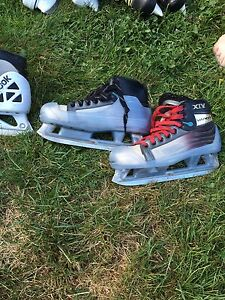 goalie skates size 8 reebok  bower size 5