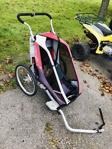 Chariot bicycle trailer, single