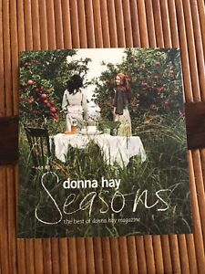 "Donna Hay ""Seasons"" cookbook - new"