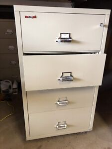Fire King 4 High Filing Cabinets
