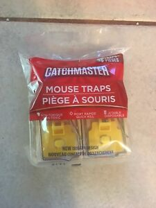 Catchmaster mouse traps 4 pack