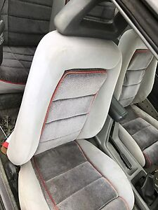 Full set of 1986 gt seats front and rears with halos