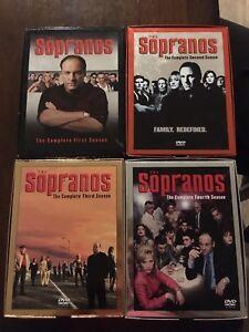 THE SOPRANOS SEASONS 1-4