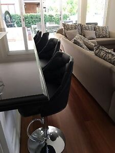 Bar stools x8 Strathfield Strathfield Area Preview