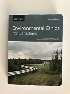 Environmental Ethics for Canadians (2nd edition) Dalhousie