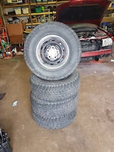 Rims and Tyres, 1998 Dodge Ram $150.00 **OBO**