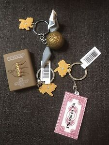 Three Harry Potter Key Chains, new with tags