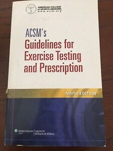 Textbook ACSM's Guidelines for Exercise Testing and Prescription Wavell Heights Brisbane North East Preview