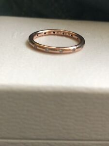 NEW Authentic Pandora Droplets Rosegold Ring