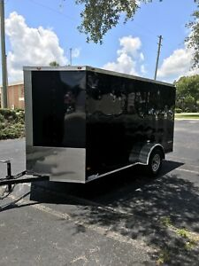 2018 6' x 12' enclosed trailer