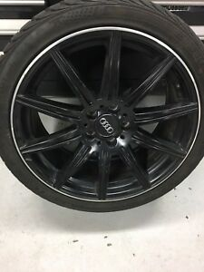 """19"""" Audi Mercedes Winter Tires on rims RS4 S4 A4"""