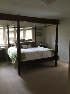 4 Post King Size Bed Beds Gumtree Australia Brisbane South West