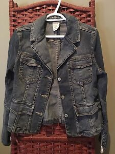 Parasuco denim cult Womens Jean jacket coat
