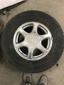 GMC / Chev 6 bolt rims and tires