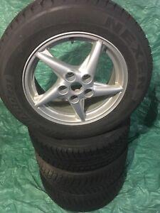 Pontiac Grand Prix - Set of 4 Rims with WINTER tires