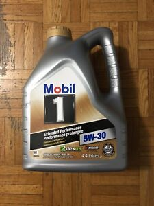 Huile moteur 5 w/ 30 Mobil One  full synthetic