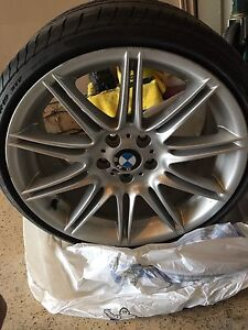 Original bmw 19 inch staggered rims