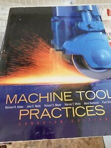 Machine Tool Great Deals On Books Used Textbooks Comics And More