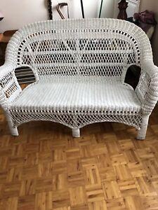 Fauteuils et chaises en rotin véritable