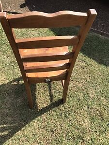 Wooden dining chairs Quakers Hill Blacktown Area Preview