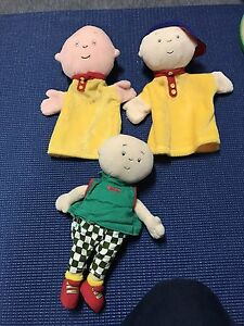 Caillou doll and marionette