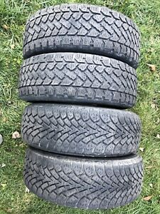 """4  15"""" winter tires for sale"""