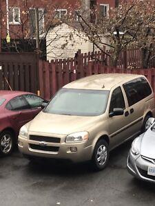 Chevrolet uplander 2005 146000kilo