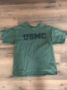 USMC T-Shirt Large