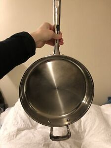 Copper Stainless Steel Frying Pan