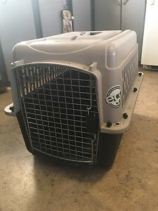 Plastic dog kennel REDUCED PRICE