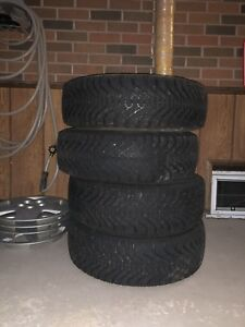 Goodyear Nordic Winter Tires with Rims 175/65R14