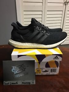 Ds core black ultraboost 1.0 size 11