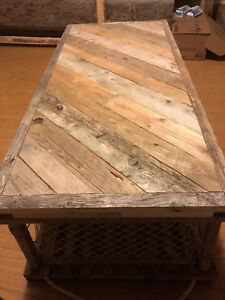 Coffee Table - Lobster Trap
