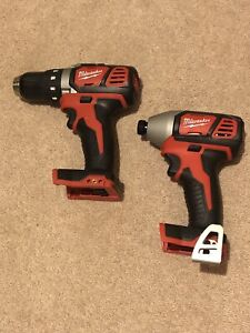 Milwaukee M18 impact and drill (tool only)