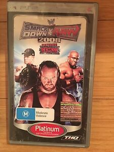 PSP WWE Games Quinns Rocks Wanneroo Area Preview