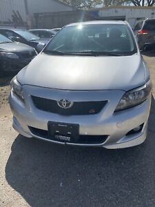2009 Toyota Corolla S new safety only 85456 km