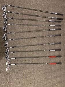 Taylormade Tour Preferred CB, R11 driver, 4 and 7 wood, wedges