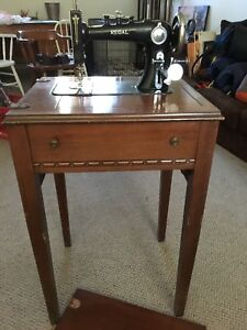 Regal Sewing Machine and Table (Vintage)