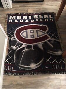 Montreal canadians hockey team rug