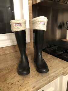 Authentic Hunter Boots 38