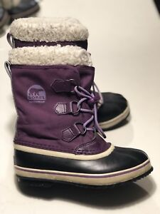 Kids Sorel Winter Boots Size Youth 3.5 $50 obo